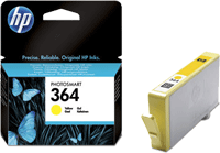 CB320EE : Cartouche d'encre Yellow (jaune) Vivera HP364 (n°364) (300 pages) pour HP Deskjet Ink Advantage serie 5520